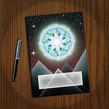 Papiernictvo - Mandala zápisník 1 - 10882981_