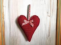 Dekorácie - Veľké levanduľové srdce - 10884591_