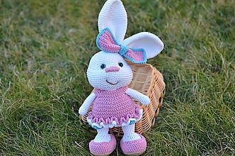 Hračky - Veľkonočný zajko - 10886747_