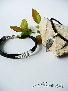 """Iné šperky - Strieborný šperk Ag925 pre dvoch """"Krídla ANJELA"""" - 10886111_"""