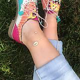VÝPREDAJ - DUO náramkov na nohu