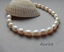 Náramky - Náramok - riečné perly - 10885862_