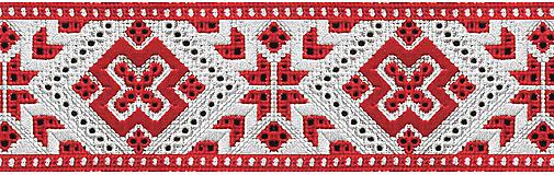 Doplnky - Pánsky motýlik s ľudovým vzorom - 10886719_