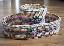 Košíky - Sada košíkov - 10886187_