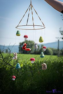 Detské doplnky - Lesné čaro - detský kolotoč - 10885362_