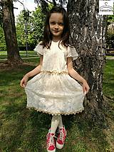 Šaty - Šaty pre dievčatko - 10884389_