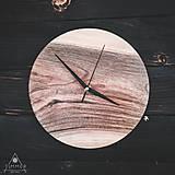 Hodiny - Walnut Ring 2 - Orechové drevené hodiny - 10886603_