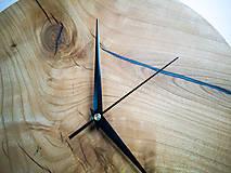 Hodiny - RAW Resin 7 - Čerešňové drevené hodiny - 10886661_
