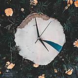 Hodiny - RAW Resin - Bukové drevené hodiny - 10886688_