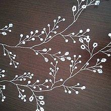 Ozdoby do vlasov - Girlanda z koráliek - 10884814_