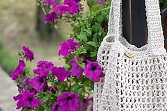 Veľké tašky - Macramé maxi taška - 10885456_