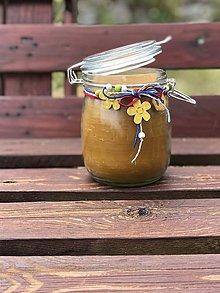 Svietidlá a sviečky - Pohár plný včelieho vosku - 10884686_