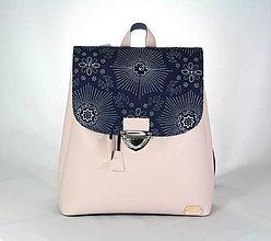 Batohy - Martin ružový + modrotlač 2 - 10886089_