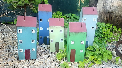 Dekorácie - Zelený domček - 10884958_