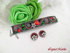 Sady šperkov - Zelená sviežosť...sada v darčekovom balení - 10885787_