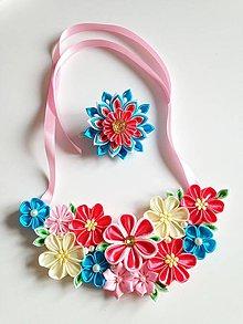 Náhrdelníky - Náhrdelník vo sviežich farbách - 10888007_