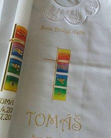 Detské doplnky - krstový set Tommaso - 10888059_