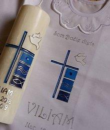Detské doplnky - krstový set Edoardo - 10888909_