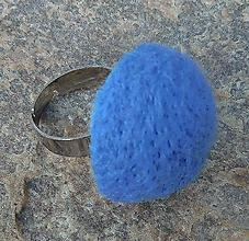 Prstene - retro prstienok sník 35mm / nebíčkový  (Modrá) - 10887191_
