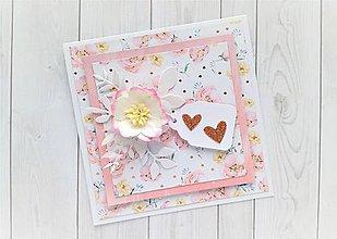 Papiernictvo - Svadobná pohľadnica - 10887737_