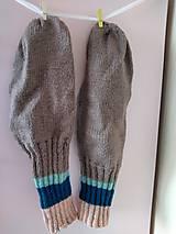 Obuv - Pásikavé ponožky.... - 10887164_