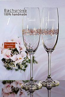Nádoby - Svadobné poháre na zakázku pre_zuzana.kristanova - 10887959_