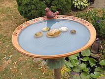 Nádoby - Fontánka s pitnou vodou pre vtáčiky - 10888972_