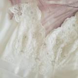 Šaty - Svadobné šaty s V výstrihmi - 10887781_