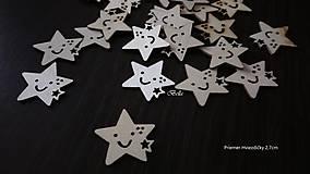 Polotovary - Drevený výrez HVIEZDA - 10887833_