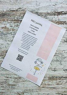 Darčekové poukážky - Darčekový certifikát na kúzelnú sukničku - 10887834_