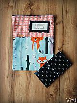Úžitkový textil - Snack pack (Čierno-biela) - 10888584_