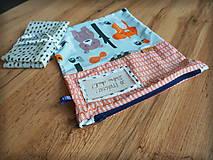 Úžitkový textil - Snack pack (Čierno-biela) - 10888586_