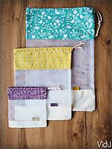 Úžitkový textil - Sada vreciek na potraviny - 10888692_