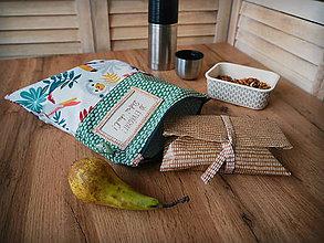 Úžitkový textil - Snack pack (Zelená) - 10888542_