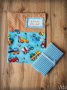 Úžitkový textil - Snack pack (Oranžová) - 10888555_