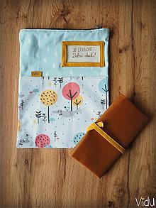 Úžitkový textil - Snack pack (Béžová) - 10888561_