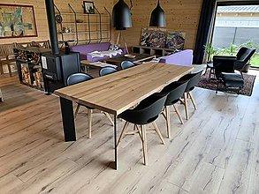 Nábytok - Poctivý stôl z masívu (jaseň) - 10887803_