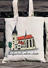 Nákupné tašky - Plátená taška - mesto - 10887048_