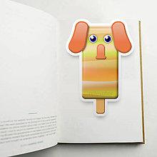 Papiernictvo - Nanuková záložka do knihy - sloník (mramor) - 10887181_