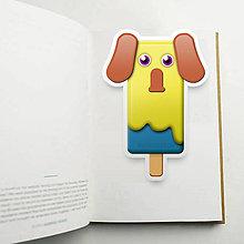 Papiernictvo - Nanuková záložka do knihy - sloník - 10887182_