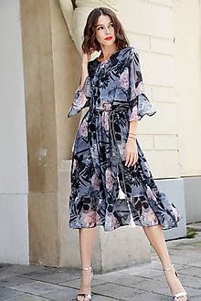 Šaty - Mušelínová diva - 10890335_