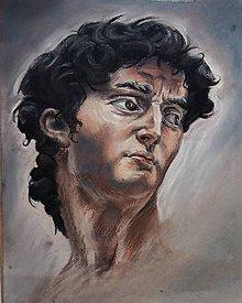 Kresby - Portrét na zákazku - pastel - 10889429_