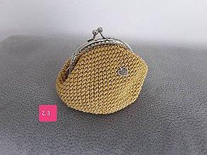 Taštičky - Háčkované taštičky - 10890039_