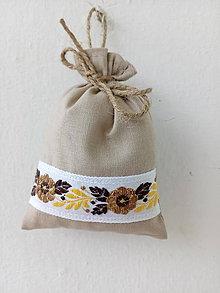 Úžitkový textil - Vrecúško na levanduľu 40 - 10889905_