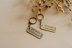 Kľúčenky - Prívesky na kľúče pre sestry - 10890315_
