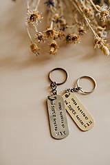 Kľúčenky - Prívesky na kľúče pre sestry - 10890316_