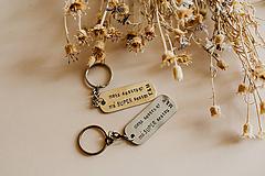 Drobnosti - Prívesky na kľúče pre sestry - 10890317_