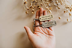 Kľúčenky - Prívesky na kľúče pre sestry - 10890327_