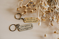 Kľúčenky - Prívesky na kľúče pre sestry - 10890339_
