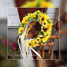 Ozdoby do vlasov - kvetinová čelenka / parta - 10891249_